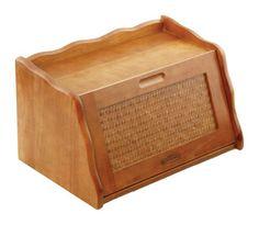 Mountain Woods Large Honey Oak Finish Wooden Bread Box & Storage Box w/ Rattan Accented Lid Mountain Woods http://www.amazon.com/dp/B0010L1DM2/ref=cm_sw_r_pi_dp_2tXWub08FGC24