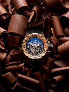Richard Mille watch & Chocolate