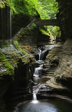 Watkins Glen State Park, New York gotta visit here next time in the Empire state. . .W