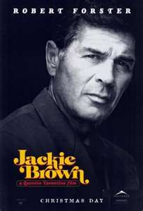 Fave movie Jackie Brown from Elmore Leonard