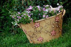 velký květináč-pnoucí růžová kyti-na obj!!!! / Zboží prodejce lavender | Fler.cz