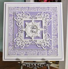 PartiCraft (Participate In Craft): Layered Lavender