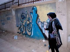 She Is Afghanistans First Street Artist, and She Might Actually Change Our Views