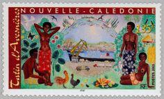 En 1957, Robert Tatin quitte Tahiti pour s'installer à Nouméa en Nouvelle-Calédonie. En 1959, il participe à une exposition collective à Nouméa. Fin 1962, première exposition personnelle dans l'ancienne mairie de Nouméa. Robert Tatin d'Avesnières y présente 170 tableaux, travail des cinq années passées en Nouvelle-Calédonie.