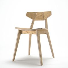 facet chair by Unto This Last, Olivier Geoffroy. digital furniture built on-demand. micro-manufacturing.