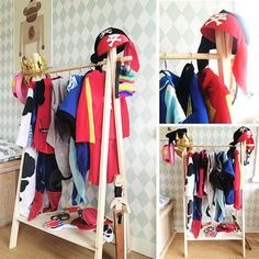 Diy For Kids, Wardrobe Rack, Diys, Baby Kids, Kids Room, Homeschool, Dress Up, New Homes, Diy Crafts