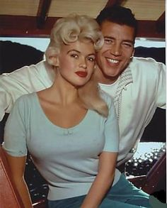 Jayne Mansfield & Mickey Hargitay, parents of Mariska Hargitay.