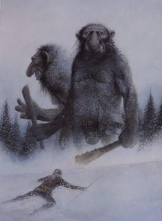 Snow Trolls by TurnerMohan