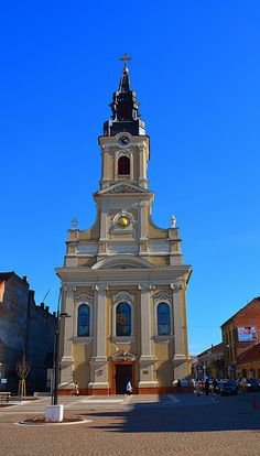 Oradea Gothic Furniture, Commercial Architecture, Iglesias, San Francisco Ferry, Building, Cathedrals, Europe, Buildings, Construction