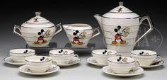 Walt Disney Mickey Mouse Tea Cup Tea Pot Set - Google Search