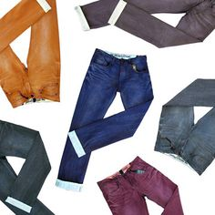 Organic Double-Dyed #Denim Jeans