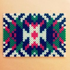 Aztec design hama beads by cemsonel