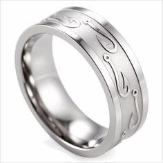 Fishing Wedding Ring