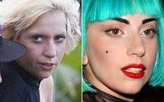 Lady Gaga é dificilmente clicada sem maquiagem. Camaleoa, ela realmente se transforma para os shows: ama tons fortes no olho, boca e cabelo!   Celebridades com e sem make - Beleza - CAPRICHO