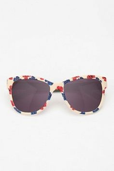 woot woot! floral sunglasses, but i would go with a more colorful pattern- i had some but i sat on them -__-