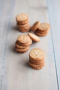 Brown Sugar Cashew Cookies | BourbonandHoney.com -- These crispy, crunchy, buttery and salty cashew cookies pair perfectly with coffee for an afternoon treat or ice cream for dessert!