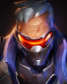 Soldier 76 from Overwatch