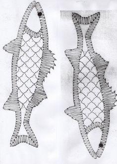 Comment participer à notre challenge? ( les patrons des poissons) | Amicale Laïque de Saint Brevin les Pins Hairpin Lace Crochet, Crochet Motif, Crochet Hats, Crochet Edgings, Bobbin Lace Patterns, Bead Loom Patterns, Lace Earrings, Lace Jewelry, Lacemaking
