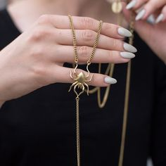 Necklace from BERY collection by Anna Orska. #orska #annaorska http://picapica.pl/