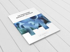 A4 Magazine / Booklet MockUp vol.1 on Behance