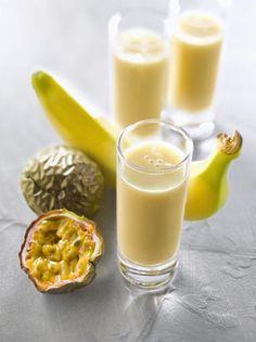 #Banane #Mango #Apfel #Maracuja #Smoothie