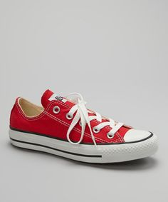 11c169c5935 Take a look at this Red Classic Sneaker - Women  amp  Men by Converse on