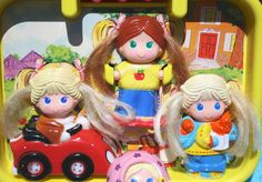 DOLLY POPS! --- Drove my poor aunt crazy -- always whining for her to play with my Dolly Pops with me LOL I thought they were so cool