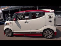 Ⓚ Kei car MUGEN HONDA N-BOX SLASH 無限 ホンダ N- BOX スラッシュ 軽自動車 - YouTube