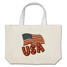 Vintage America Flag