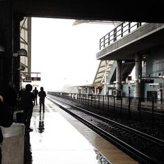 The Millbrae Caltrain and @sfbart station in a fog is the Dec 4, 2015 #CaltrainIG. Thanks to Instagrammer @michaellongphotovideo