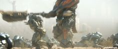 Halo 4 prologue: Spartan vs Brute