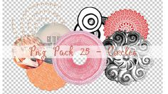 PNG PACK 25 - CIRCLES by ChantiiGG on deviantART
