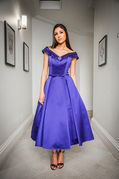 Fabric Satin Dress Cobalt Use the Satin Colour Card… Satin Dresses, Gowns, Fashion Dresses, Women's Fashion, Satin Color, Female Clothing, Silk Satin, Cocktail Dresses, Dress Collection