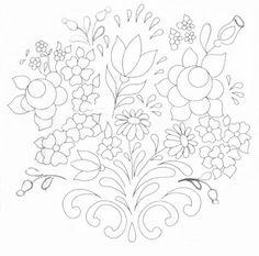Pintura Em Tecido - Venha Aprender Pintura em Tecido: Riscos Bauernmalerei…