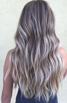 natural icy blonde ombre - Google Search