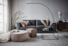 〚Soft and elegant Scandinavia in interiors by Jotex〛〛 Photos ◾Ideen◾ design - Interieur - Home Style - Interior Design Living Room Warm, Elegant Living Room, Home Interior Design, Living Room Designs, Interior Paint, Home Living Room, Living Room Furniture, Living Room Decor, Inspire Me Home Decor