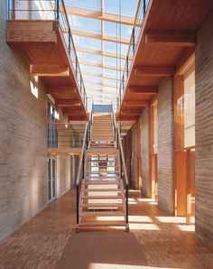 Rammed Earth Printing Plant Gugler in Pielach, Austria by Martin Rauch + Arch. Herbert Ablinger, Vedral & Partner