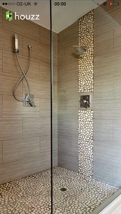Ruimtelijk effect van grote tegels | badkamers | Pinterest | Toilet ...