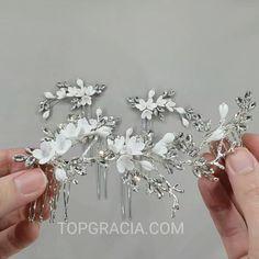Bridal Crown, Bridal Hair, Head Pieces, Rhinestone Wedding, Wedding Hair Accessories, Hair Comb, Bridesmaid Gifts, Hair Pins, Bridal Jewelry