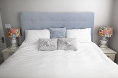Cómo hacer un cabecero de cama acolchado DIY by Dream Book Design