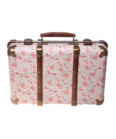 Vintage Rose Suitcase | Daily deals for mums, babies and kids