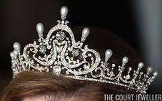 Queen Maud's Pearl Tiara, Norway | The Court Jeweller