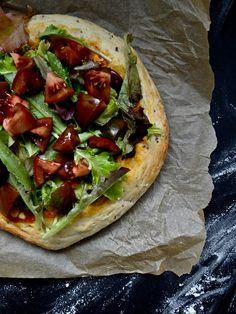 Mexican Salad Pizza