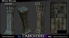 Steven Skidmore - Darksiders 2 lovin' - portfolio overhaul - Polycount Forum