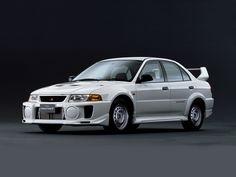 Mitsubishi Lancer RS Evolution V (1998). an old beast of rally