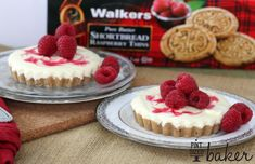 Easy and delicious White Chocolate Raspberry Tarts that are perfect for a Spring time dessert.
