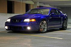 Sonic blue 03 Mustang Cobra
