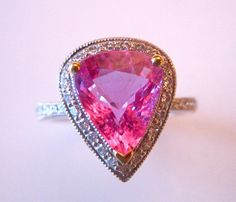 #Pink Sapphire Ring