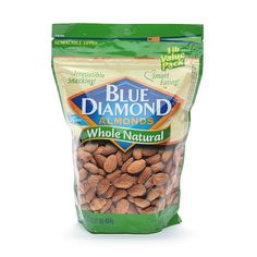 Blue Diamond Almonds Whole Natural - 16 oz.