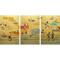 Dorota Zych-Charaziak, Skąpani słońcem (tryptyk) Rugs, House, Painting, Home Decor, Art, Farmhouse Rugs, Art Background, Decoration Home, Home